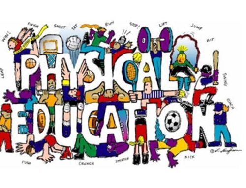 Weekly PE skills, physical activity and competitions
