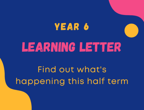 Year 6 Learning Letter – Autumn Term 1