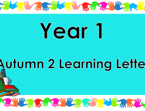 Year 1 Autumn 2 Learning Letter
