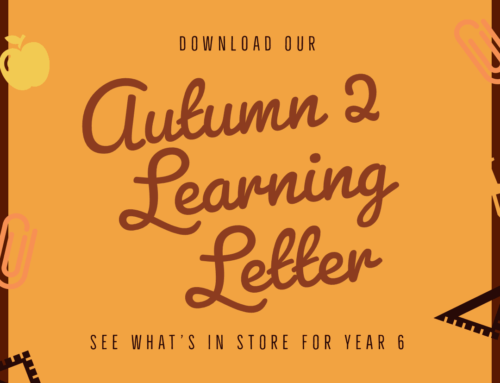 Autumn 2 Learning Letter