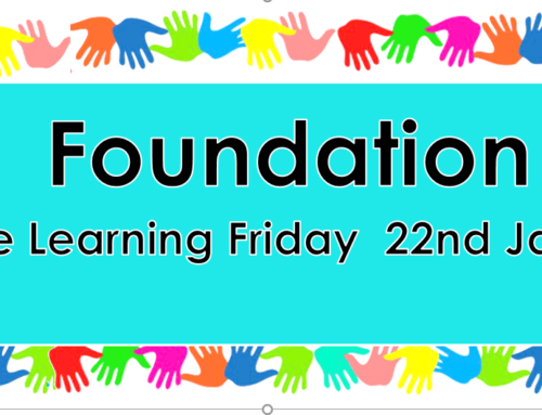 Home Learning Friday 22nd January