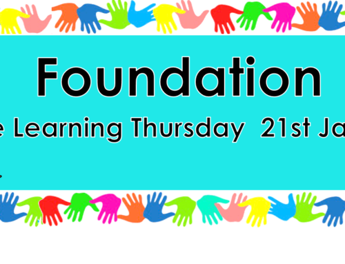 Home Learning Thursday 21st January