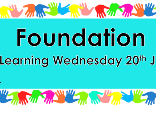 Home Learning Wednesday 20th January