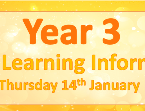 Year 3 Remote Learning- Thursday 14th January