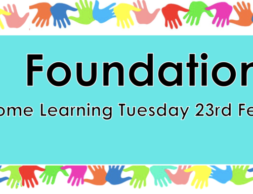 Home Learning Tuesday 23rd February