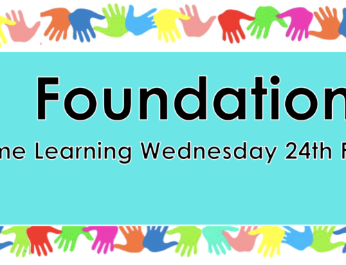 Home Learning Wednesday 24th February