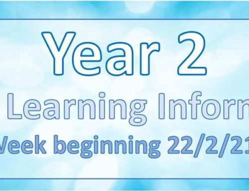 Year 2 Home Learning 23.2.21