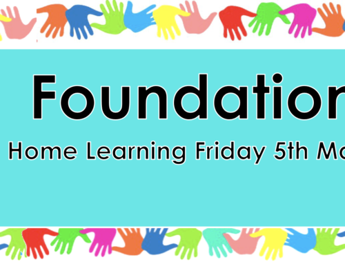 Foundation Friday 5th March
