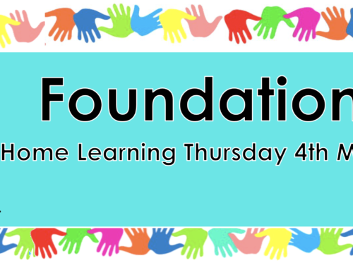 Foundation  Thursday 4th March World Book Day