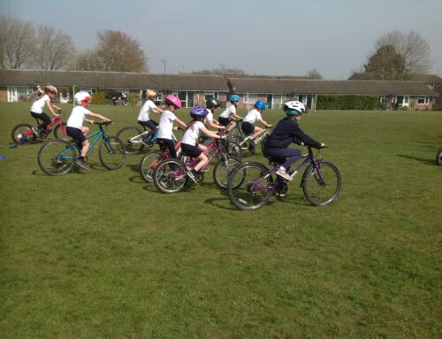 Year 3 Cycling Lesson!