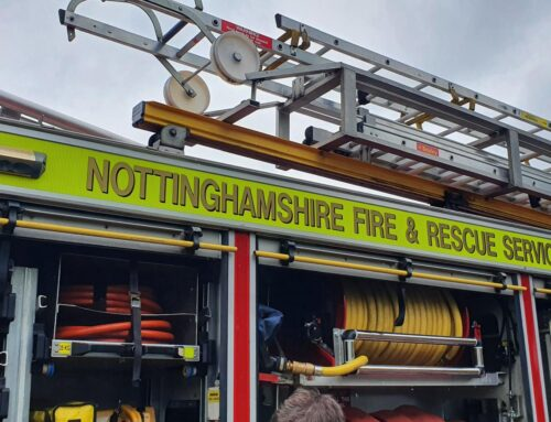 Year 2 Visit from the Nottinghamshire Fire Brigade