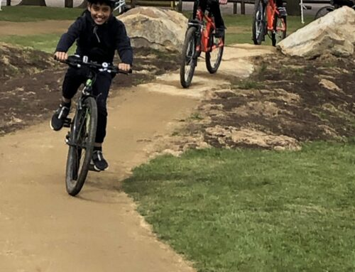 Y5 Try Out The New Bike Track